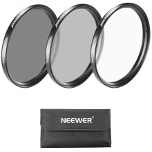 Buy Neewer 77MM Lens Filter Kit:UV+CPL+ND4 Filter+Pouch+Cleaning Cloth Canon EOS EF 24-105mm f/4 L IS USM Zoom Lens,Nikon 28-300 for $12.99 in AliExpress store