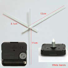 Shinfuku 11.5mm Screw Axis G631 clock mechanism with 18# hands Silent Sweep Quartz Movement Plastic DIY Clock Accessory kits
