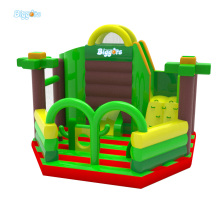 Newest Design Adults And Kids Combo Inflatable Playground Slide And Inflatable Jumper For Sale