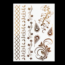 #HT-1 Hair Tattoos Hair Accessories, Newest Metal Tattoos! Hot Sale Flash Tattoo. Freeshipping(China)