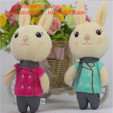1PIECE Cartoon plush rabbit doll plush toys plush bouquet holiday gift Pendant