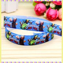 5/8'' Free shipping Fold Elastic FOE cartoon game printed headband headwear diy decoration wholesale OEM P4676(China)