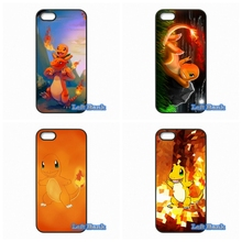 For Samsung Galaxy Note 2 3 4 5 7 S S2 S3 S4 S5 MINI S6 S7 edge Charmander Pokemons Case Cover