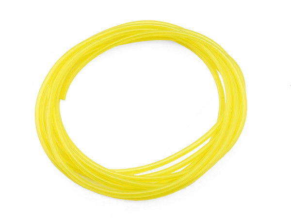 200FT  Tygon Petrol Fuel Gas Line Pipe Hose Yellow For Trimmer Chainsaw IDxOD  3mm x 5mm<br>