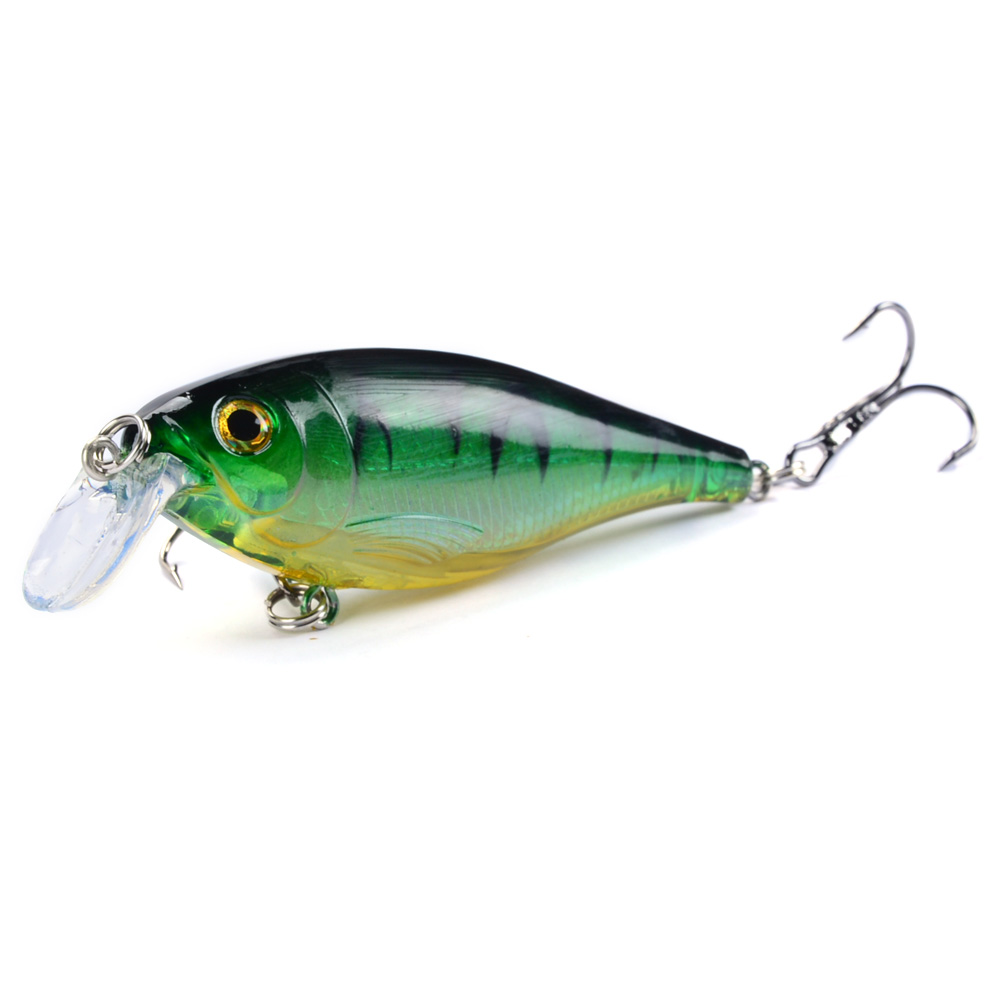LINGYUE 1PCS Fishing Lures 8.5cm/12.5g Minnow Hard Baits Artificial Make High Quality Bass Crankbait Wobblers Fish Tackle 5