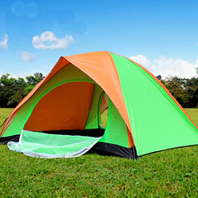Camel CS052 1-2 Person Outdoor Camping Tent Double Layers Double Doors Summer Outdoor Sports Tent Home