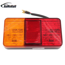 1 Pair 12V 40 LED, Rear Tail Lights, Stop Indicator Lamp, Truck Trailer Van Bus Car Accessories hot sale(China)