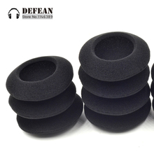 10x foam cushion ear cover pads for Logitech H330 H340 USB PC Headphone HeadsetFree shipping alistore