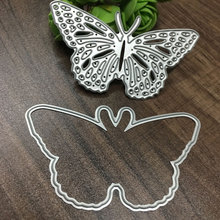Buy Metal Butterfly Cutting Dies Stencils DIY Scrapbooking/photo album Decorative Embossing DIY Paper Cards Hot Sale for $1.34 in AliExpress store