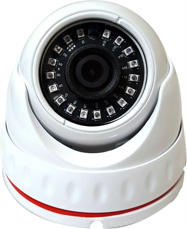 SMD Led  AHD 1080P 2.0MP IR CCTV Dome Camera System with 3.6mm Lens Metal Waterproof Casing<br>