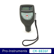 Landtek CM-8826F F Type Ferrouse Metal Steel Substrate Galvanized Coating Thickness Meter Thickness Gauge