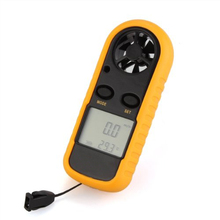 Useful Handheld Digital LCD Wind Speed Meter Thermometer Anemometer for Surf Sailing(China)