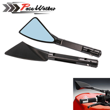 5 colors CNC ALUMINUM custom motorcycle rearview Side mirror For KAWASAKI z750 NINJA250 HONDA R1 R6 FZ6 SUZUKI YAMAHA  KTM
