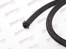 AN -8 AN8 AN08 Stainless Nylon Braided Fuel Line Oil Gas Hose