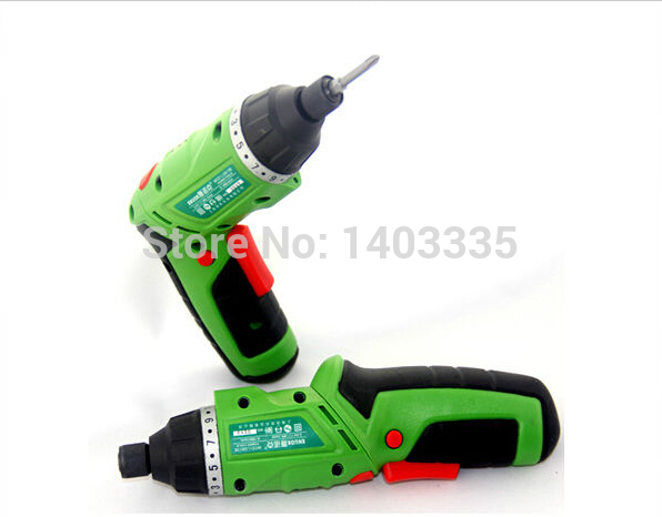 Free shipping mini electric screwdriver rechargeable screwdriver machine 3.6V lithium battery of small household electric drill<br><br>Aliexpress