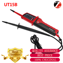 UNI-T UT15B Waterproof Multi-function Volt Testing Pen UT15B single pole test Voltage Testers LCD display Continuity Torch UT15B