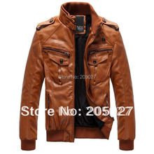 Buy autumn winter leather jacket stand collar short slim jacket men coat leather jacket men winter jackets coat plus size for $66.48 in AliExpress store