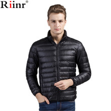 Riinr Winter Men Jacket 2017 Brand Casual Mens Jackets And Coats Thick Parka Men Outwear 4XL Jacket Male Clothing(China)