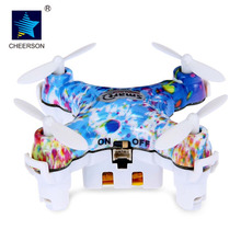 Original Cheerson CX10D Mini Drone 2.4GHz 4CH 6-axis Mini RC Helicopter Quadcopter RTF Cheerson CX-10D RC Quadcopter VS CX-10W(China)