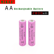 4pc a lot Ni-MH 2800mAh AA Batteries 1.2V AA Rechargeable Battery NI-MH battery for camera,toys