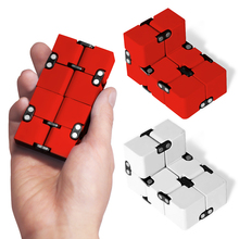 2017 Infinity Cube Fidgets EDC Stress Relief Toys For Adult Child Gift Cube Cool Stress Reliever Magic Cube Puzzle Toy