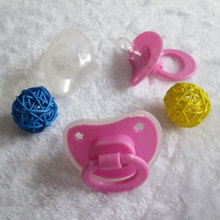 Silicone Baby Pacifiers Funny Pacifiers BPA Free Sucette Baby Products Teat Nursery Goods for Babies Pacifier with Back Cover