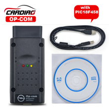 V1.65 quality A+++ Opcom Software 2014.02 with PIC18F458 Chip OP-Com Can OBD2 for Opel Firmware V1.65 Op com CAN BUS Interface