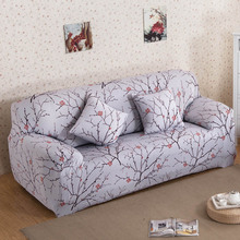 Flower Printing Sofa Cover Slipcover Flexible Stretch Big Elasticity Couch cover Funiture Cover Single/Two/Three/Four-seater