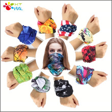 C.gree 10pcs 2017 Newest Custom unique Multifunctional Headwear Wear Neck Bandana unisex Mask Cap Multi Seamless Scarf Tube
