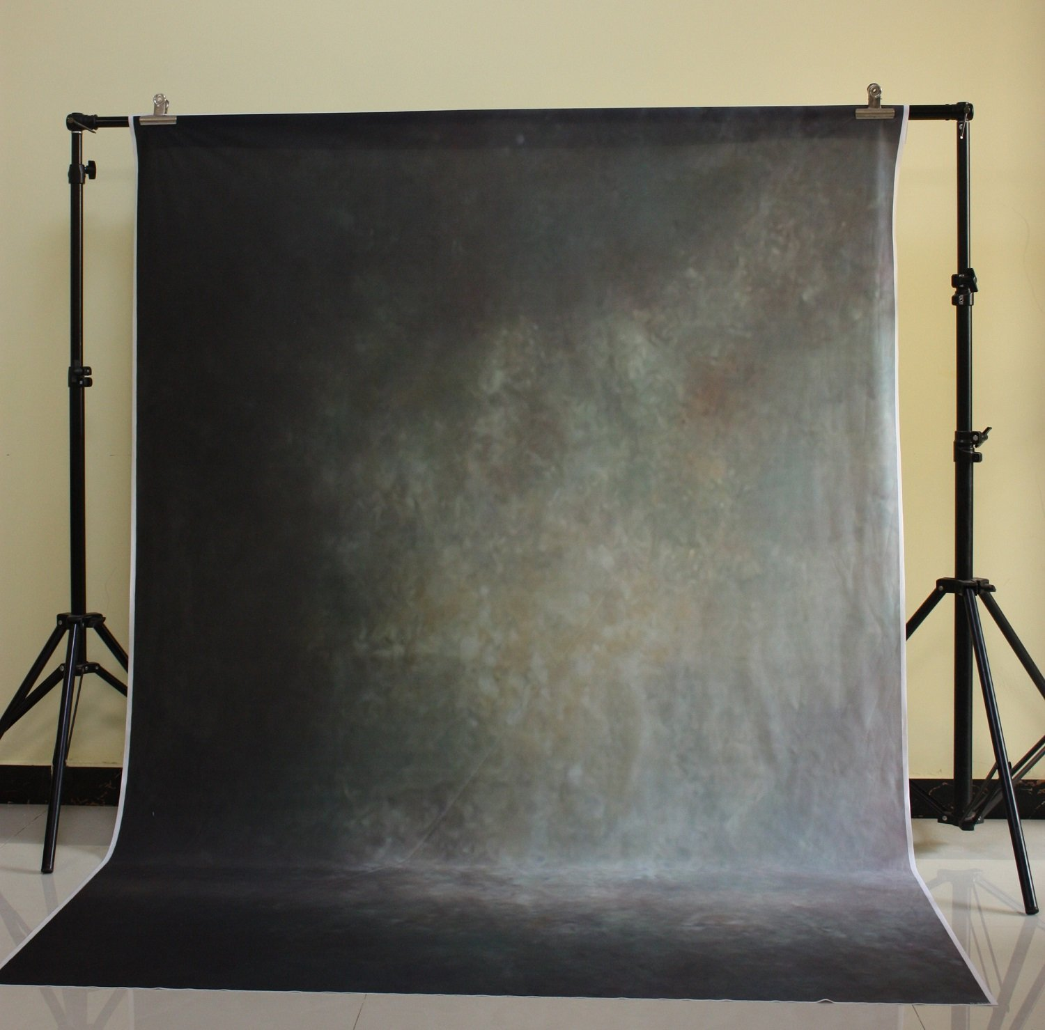 150x220 cm Cotton Polyester Dark Deep Background Christmas Party Backdrop Children Photo Dark green solid color wall D-8958<br>