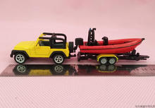 Brand New SIKU 1/50 Scale JEEP with Speed Boat Diecast Metal Car Model Toy For Gift/Collection/Decoration/Kids(China)