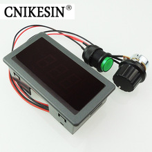 CNIKESIN Adjustable DC 6V-30V 12V 24V MAX 8A Motor PWM Speed Controller W/ Digtal Display Dc motor Control CV governor Switch