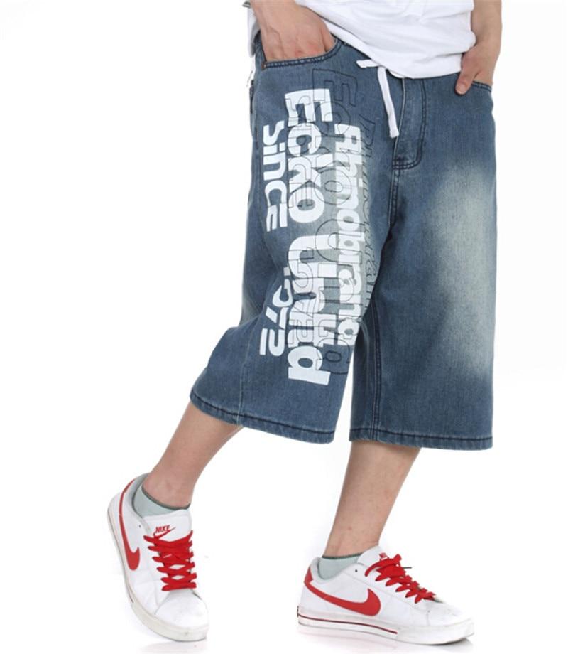 Baggy Pants Men Washing Jeans shorts pants Trousers Male Hip-hop Pants Large Plus Size 30-46Одежда и ак�е��уары<br><br><br>Aliexpress