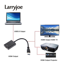 Larryjoe USB 3.0 to HDMI Converter USB3.0 to HDMI Graphic Adapter Multi Display Cable for PC Notebook Projector HDTV HD 1080P