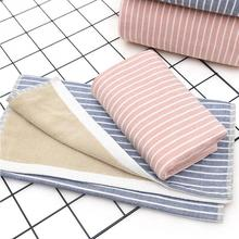 New Cotton Face Clean Absorbent Antibacterial Towel Soft Comfortable Stripe Microfiber Gym Sports Towels Bathroom Towel 34*76cm