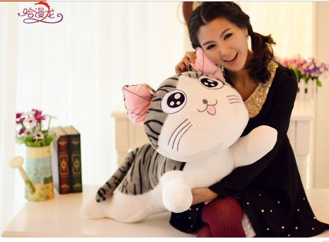 NEW STuffed Chis cat plush toy 80 cm chi cat doll  31 inch soft Toy birthday gift wc557<br><br>Aliexpress