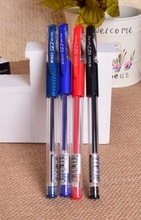 W-Free shipping 0.5mm hot sale classical school office use 4 types gel pen(1piece)