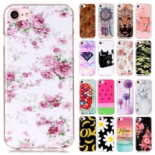 Luxury IMD TPU Silicone Rubber Soft Cartoon Cover For Apple iPhone 7 for iPhone 7 plus Sprint Phone Protective Cases for iPhone7