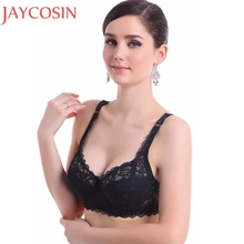 Buy Sexy Lingerie Bralette Women Fashion Push Bras Ultrathin Underwire Lady Padded Lace Brassiere Bra Appliques Underwear Nov30