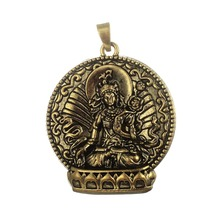 Buy shape 5Pcs Bronze Plated Buddha Meditation Religious Charm Pendant Fit Diy Necklace Jewelry Making for $7.98 in AliExpress store