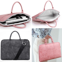 Fashion new  Laptop Shoulder Bag 13 14 15inch Notebook Sleeve Carry Case for MacBook Pro Air  ASUS Acer Lenovo Male and female