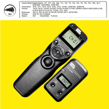 Pixel TW-283 E3 Wireless Timer Remote Control for Canon G10 G11 G15 G12 G16 G1X,G1XII,SX50 HS,SX60 HS Camera Shutter Release