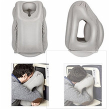 1pc Travel Pillow 35*30*55cm Inflatable Travel Pillow / Large Neck Pillow with Full Body and Head Support Multifunctional