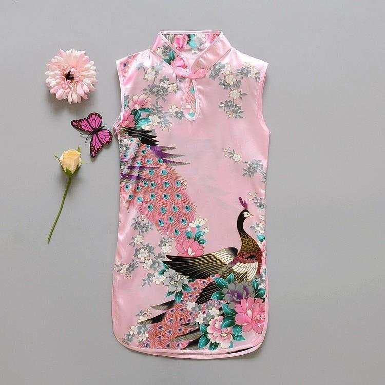 2016 Newest Fashion Girls Dress  Cotton  Sleeveless Summer Childrens Cloth for kids<br><br>Aliexpress