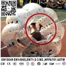 Inflatable ball suit buddy bumper ball for adult, inflatable human soccer bubble ball for football(China)