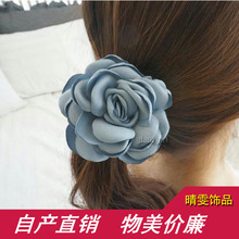 2017special Offer New South Korea Imported Roses Hair Rope Elegant Woman Female Headdress Elastic Ring Freeshipping Top Fashion