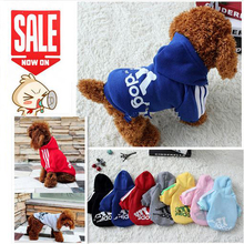 Autumn Winter Pet Products Dog Clothes for small dogs Pets Coats Soft Cotton Puppy Dog Clothing For Dog Chihuahua Chien Doges