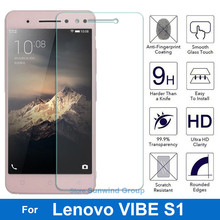 Screen Protector for Lenovo Vibe S1 Tempered Glass Original 2.5D 9H Protective Film On S 1 S1a40 S1c50 Dual Sim