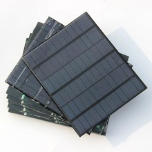 3.5W 18V Polycrystalline Solar Cell Small Solar Panel For Battery Charger/DIY Solar Charger 165*135*3MM 5pcs/lot Free shipping