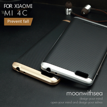 Xiaomi mi4c case special 2 in 1 design New product high quality PC+TPU material 100% luxury mobile phone back cover